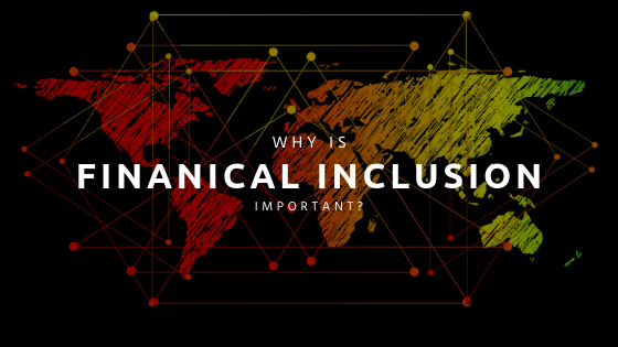 image of world map with 'why is financial inclusion important?' written on it